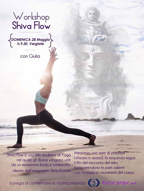 Shiva flow a Vergiate