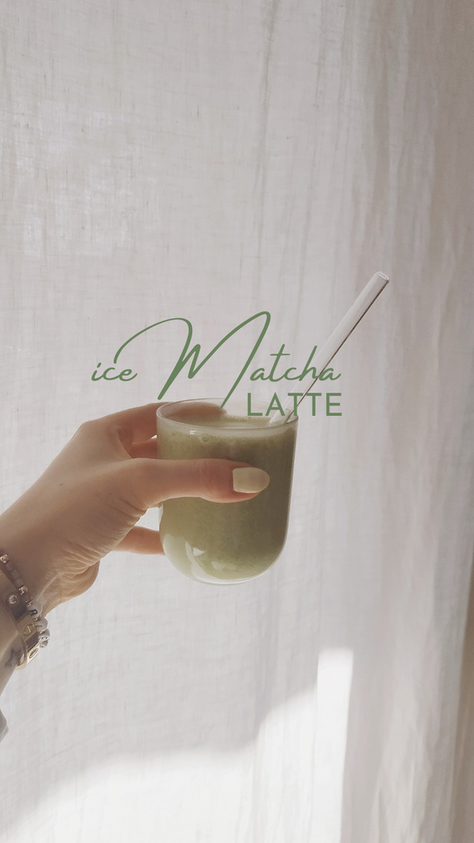 Ice Matcha Latte