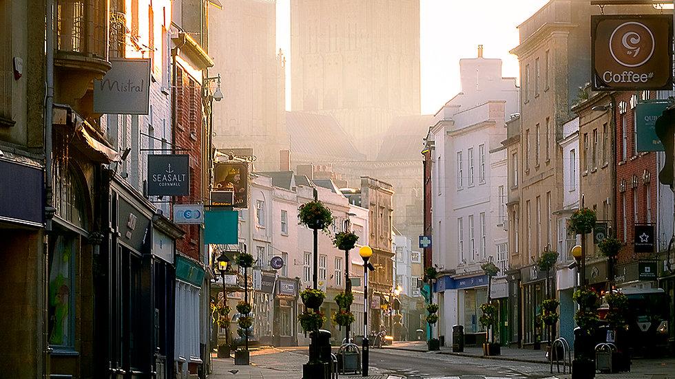 High Street Wells Somerset