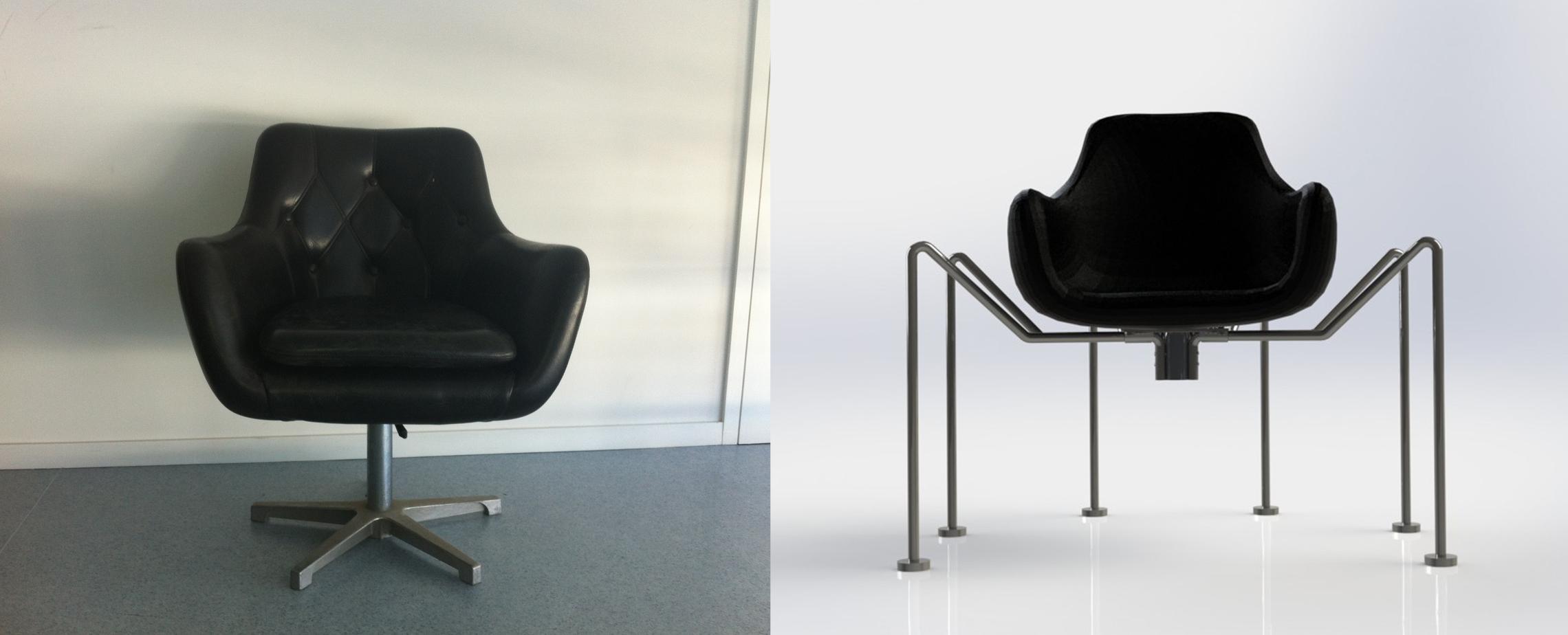 Caterina Ramada - spider chair