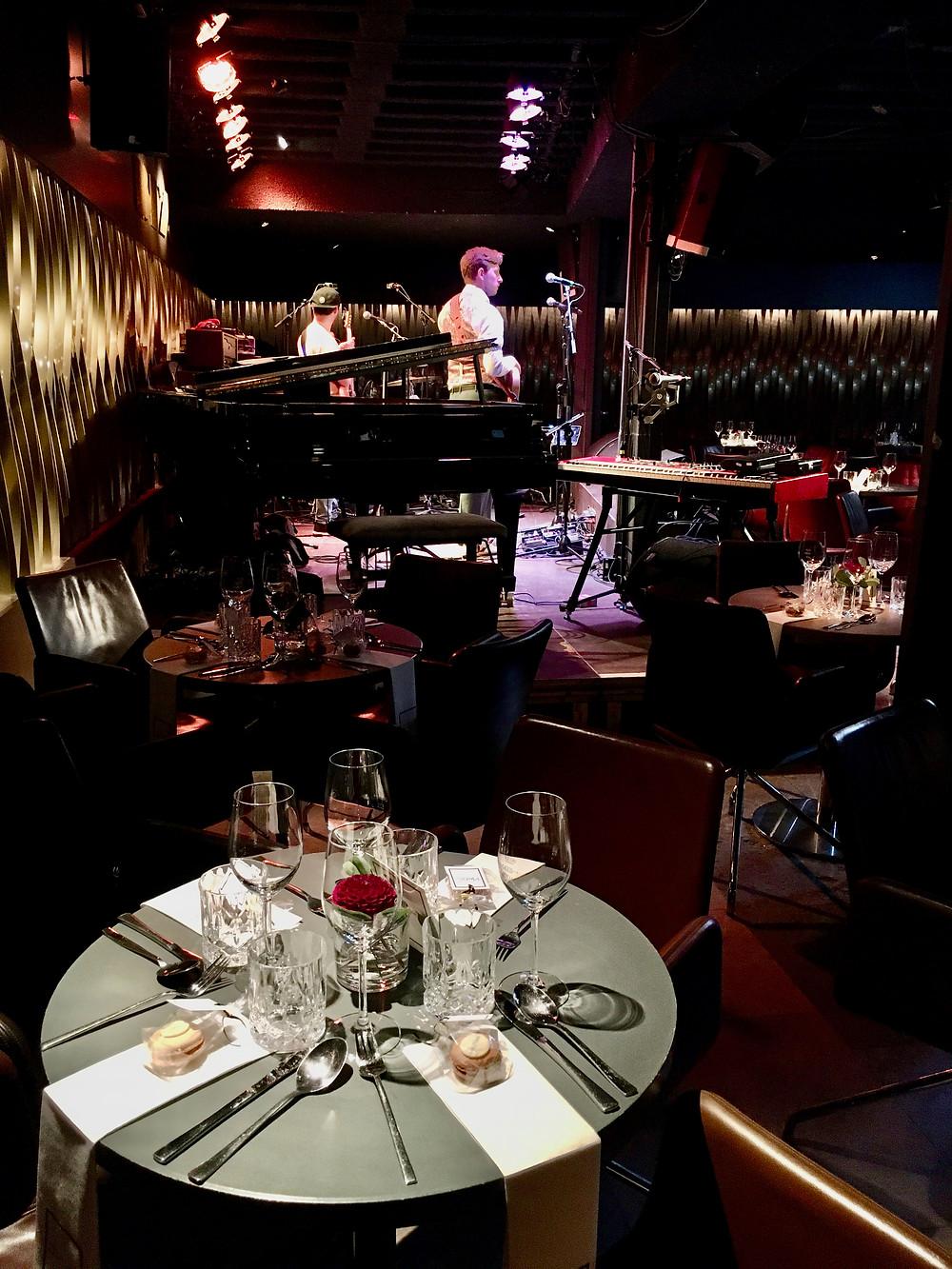 Hochzeitsdinner, BIX Jazzclub Stuttgart, Jazzband/Jazzpianist/Pianist