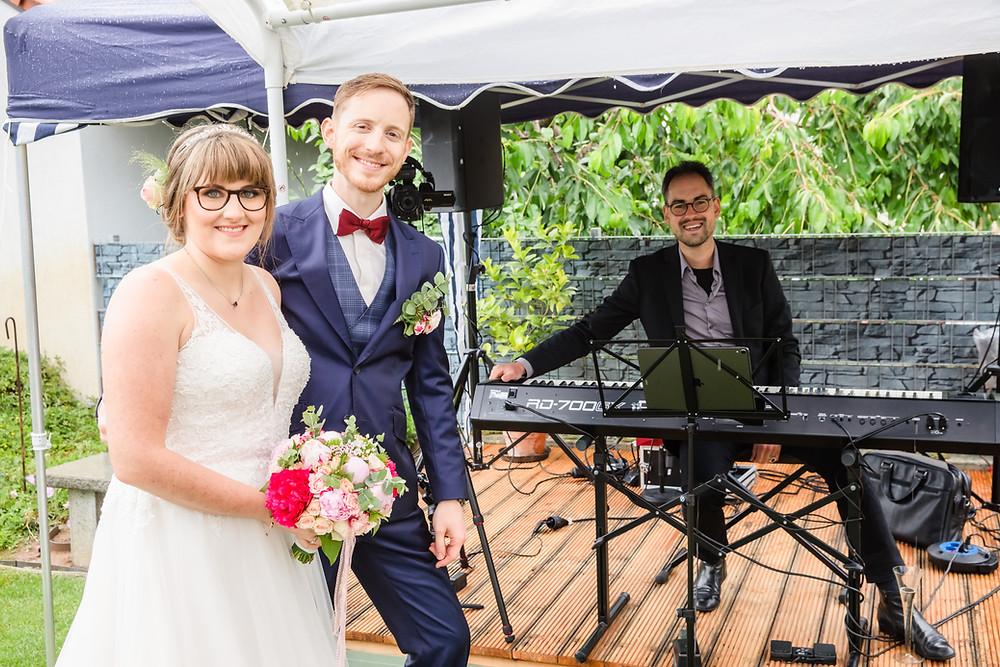 Hochzeitsfeier und freie Trauung in Kuhardt, Pianist/Jazzpianist