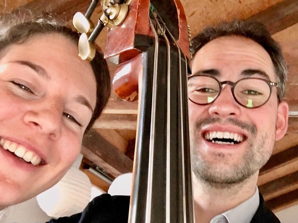 Sektempfang, Alter Obstkeller Mönchberg, Jazzband/Jazzpianist