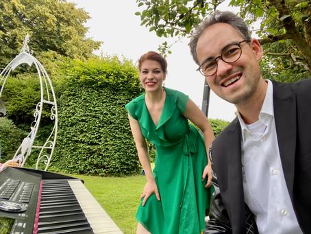 Freie Trauung mit der Sängerin Sarah Alexandra Hudarew