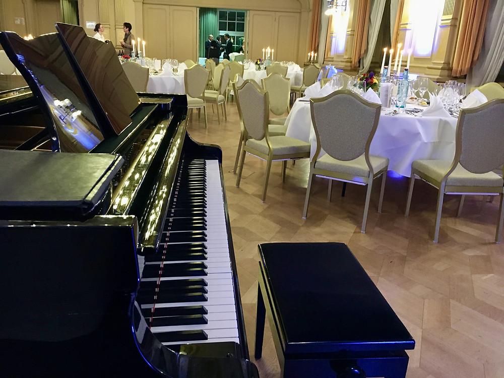 Firmenfeier im Palais Prinz Carl Heidelberg, Pianist/Jazzpianist