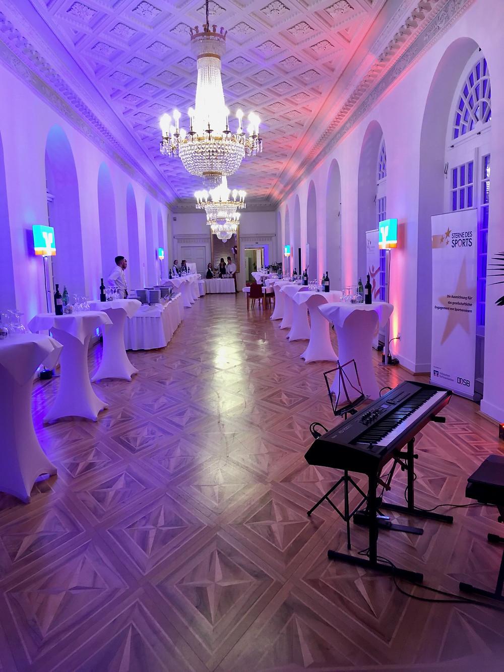 Empfang, Schloss Biebrich Wiesbaden, Pianist/Jazzpianist