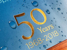 50 Years - Foil Stamp