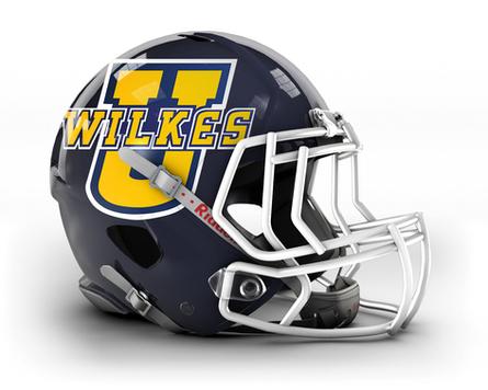 Wilkes U Helmet Decal