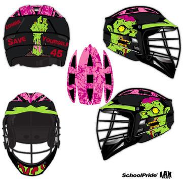 Lax Helmet - Zombie