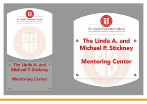 Mentoring Center Door Nameplate