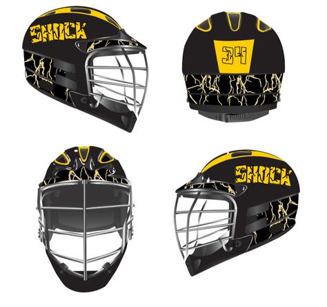 Lax Helmet - Shocks