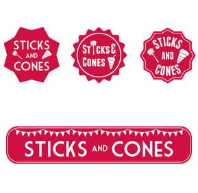 Sticks and Cones