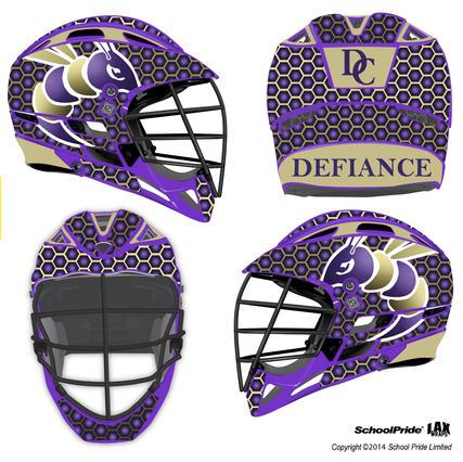 Lax Helmet - Defiance College