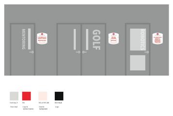 Door for each section