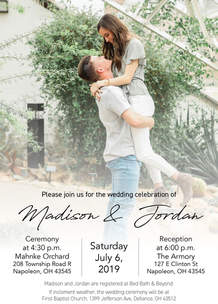 Madison & Jordan Wedding Invite 2