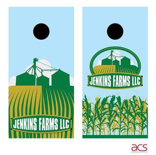 Jenkins Farm Cornhole Boards
