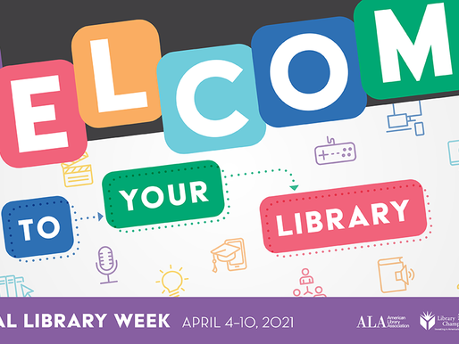 How Are You Celebrating National Library Week?