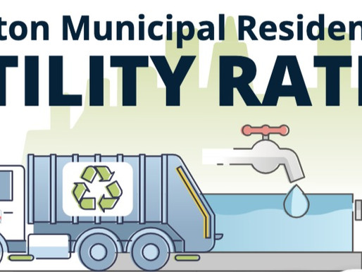 Updated Residential Utility Rates in Effect as of Oct. 1