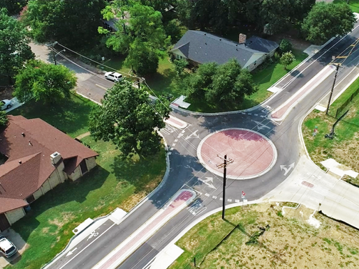 New Safety Enhancements Coming to Hinkle and Mimosa Drive Roundabout