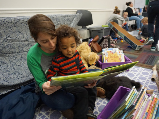 Join the Library's New Program and Read 1,000 Books with Your Children Before Kindergarten
