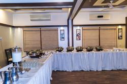 amidhara-Buffet Set up.