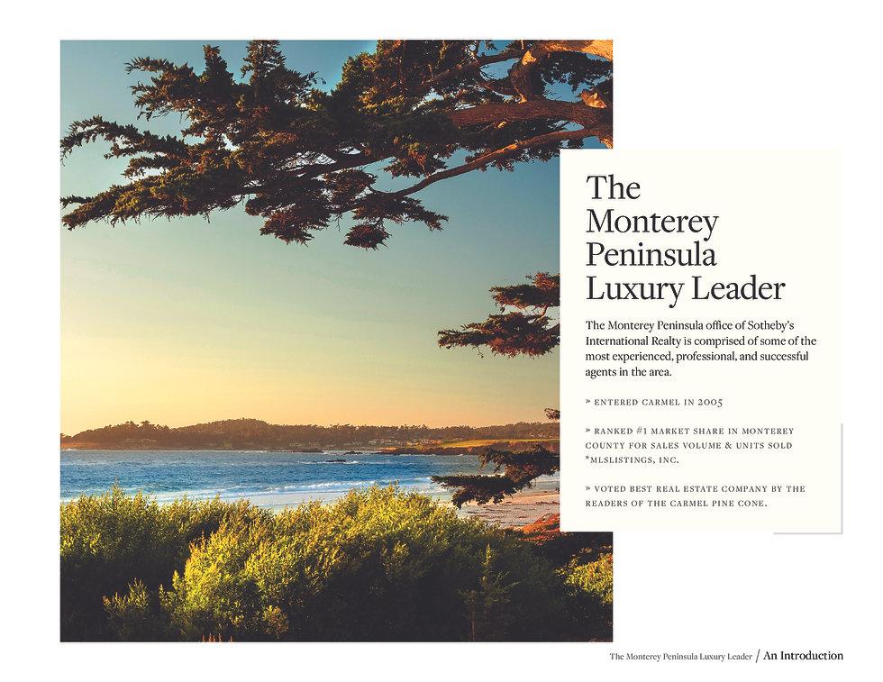 Pebble Beach Luxury Real Estate Market Leader