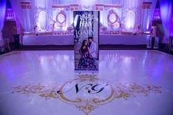 Floor Graphics - Paradise Banquet