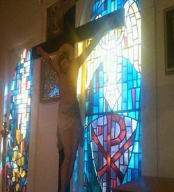 Icon of Jesus on the Cross