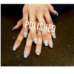 Beautiful Prom Nails ❤❤ #polishedinburbank #polished #polishednailsalon #nails #nailstagram #nailart