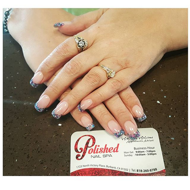 Nails by Helen __ Gorgeous French!!! 💞💞💞 __ Thank you for coming in _terrabremnerwright __ #polis
