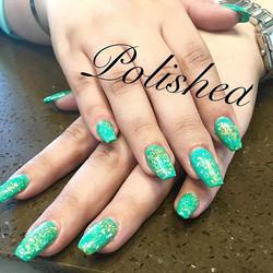 Seashell fills by Sandy ❤️ #polishedinburbank #polishedgirls #polishedwomen #polished #nailstagram #