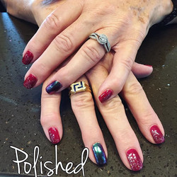 We are loving the chrome look and so does our clients! We can transform any color into chrome