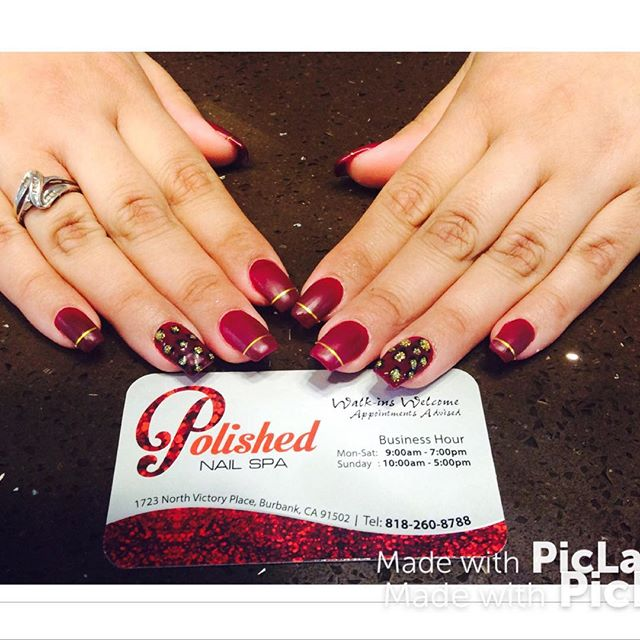 😻F I E R C E 😻 by the Polished Team #polishedburbank #polishedinburbank #polishedgirls #nailvarnis