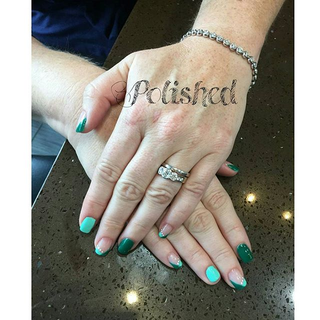 The weekend is coming up ! Who's ready to get some mani Pedis___ #polishednailsalon #polishedinburba