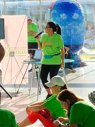 Participación en actividades de  Fundación Relaciones Sanas