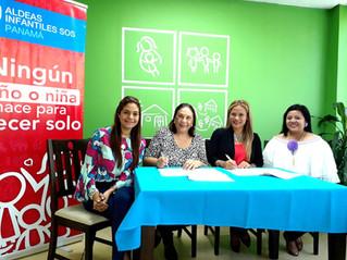 Alianza de colaboración con Aldeas SOS