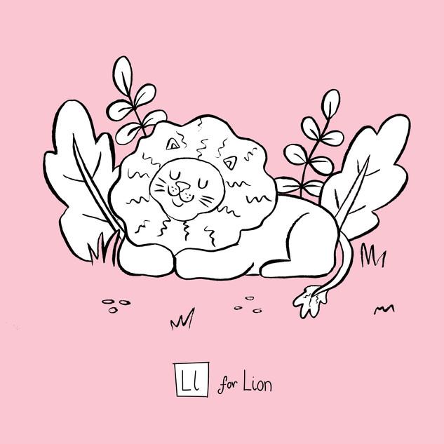 Ll - lion