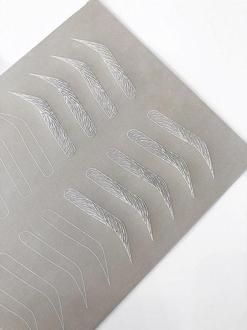 Inkless Practice Sheet