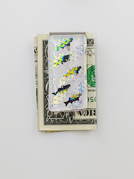 Swimming Fish Money Clip