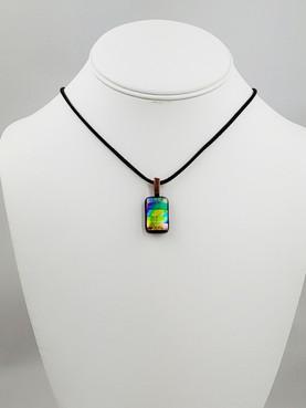 Rainbow Mosaic Pendant