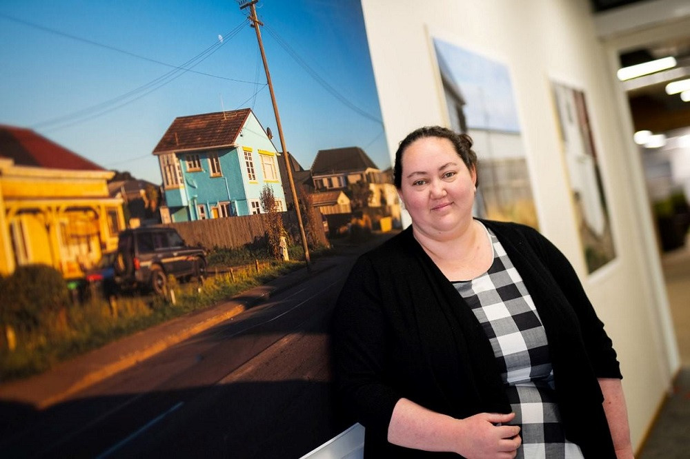 Otago Polytechnic master's student Hayley Walmsley has an exhibition featuring broken and discarded objects in north Dunedin