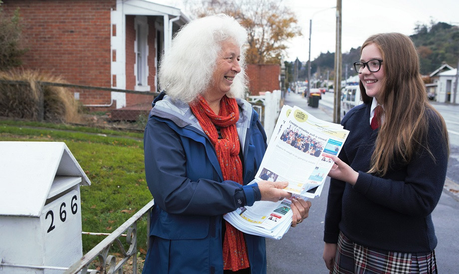 A new generation of Valley Voice deliverers will take on deliveries in North East Valley and Normanby.
