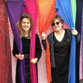 Fashion, fabrics & cafe at Opoho fair