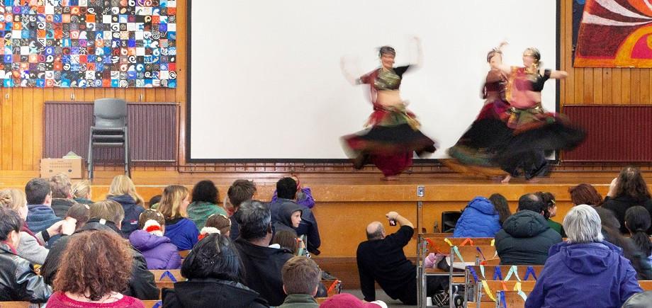 Multicultural Pot Luck community event at Dunedin North Intermediate