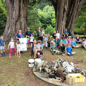 Large rubbish haul for clean-up crew