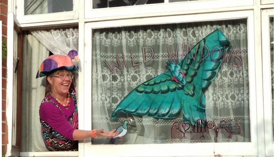 wind artwork for the Wild Windows Virtual art dsiplay.