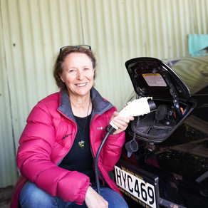 Passion for benefits of electric cars