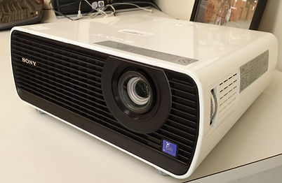 The Valley Project has data projector available
