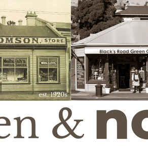 Then & now: Blacks Rd corner