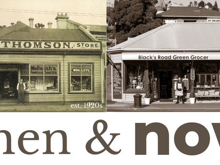 Then & now: Blacks Rd corner